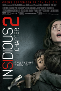 INSIDIOUS: CHAPTER 2 HITS THEATRES SEPTEMBER, FRIDAY THE 13th. Trailer and Movie Poster supplied by FilmDistrict.