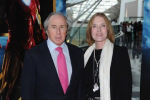 Sir Jackie Stewart and Helen Stewart